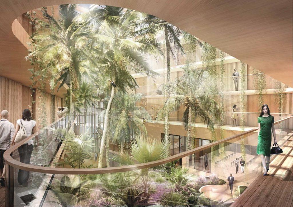 Hotel Jakarta subtropische tuin - Westcord Hotels