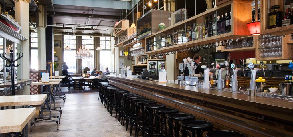 Restaurant & bar in Hotel New York Rotterdam - Westcord Hotels