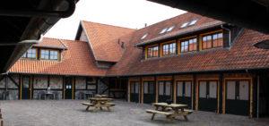 Binnenplaats Hotel Salland in Raalte - Westcord Hotels