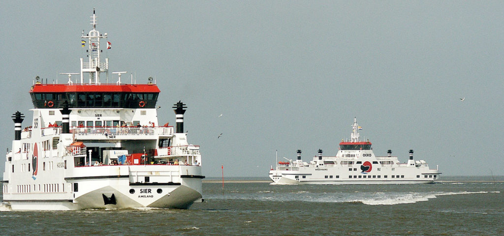Boot naar Ameland - Westcord Hotels