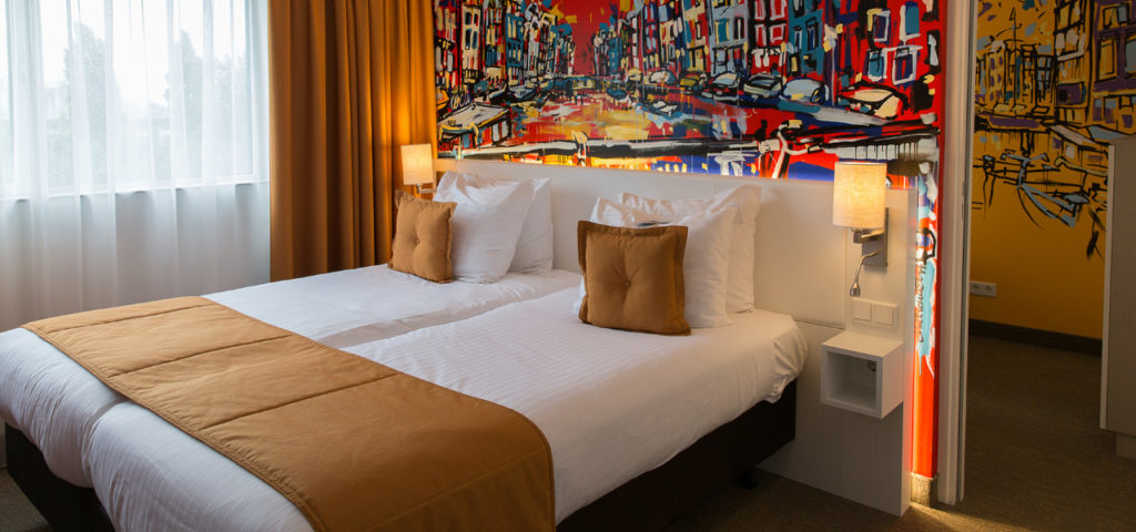 quad-deluxe-room-westcord-art-hotel-amsterdam-1 - Westcord Hotels