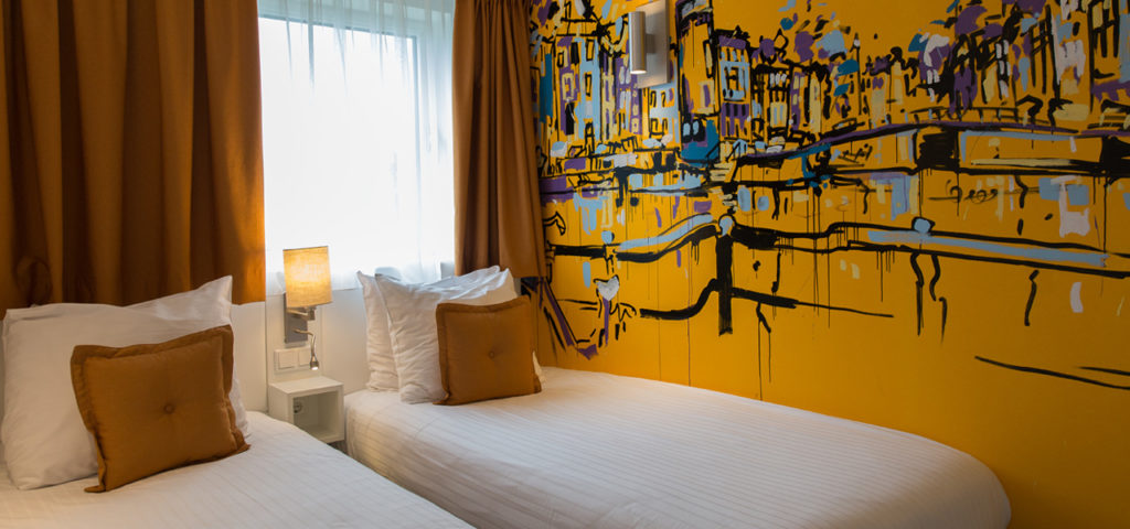 Art hotel amsterdam 3 stars westcord hotels for Art hotel design
