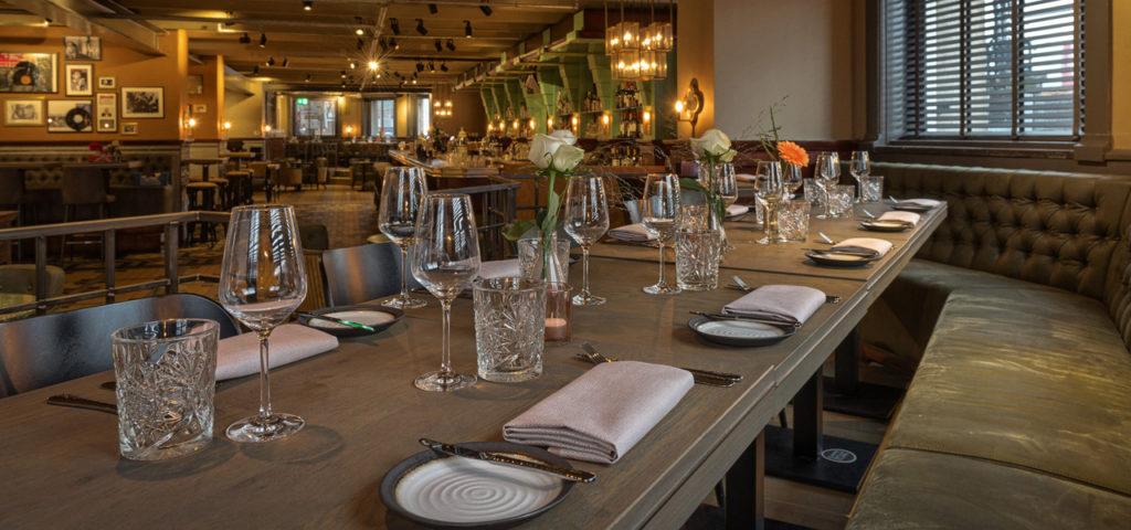 Restaurant NY Basement in Hotel New York - Westcord Hotels