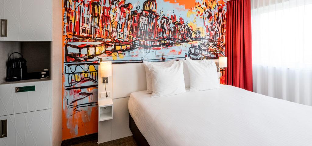 superior-kamer-balkon-art-hotel-amsterdam - Westcord Hotels