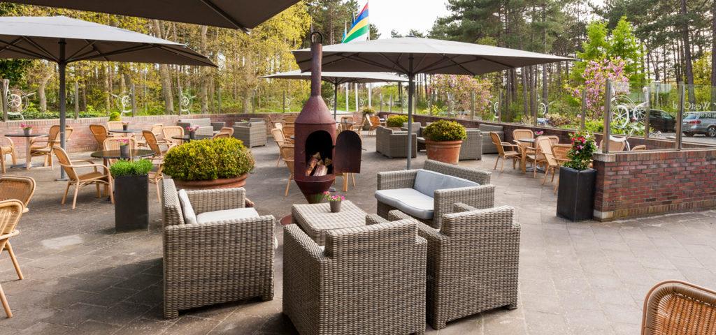Terras Residentie Boschrijck op Terschelling - Westcord Hotels