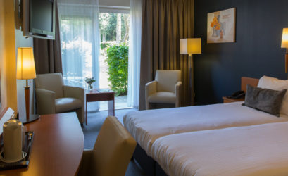 Twin Kamer met terras - WestCord Hotels