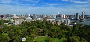 Uitzicht vanaf de Euromast Rotterdam - Westcord Hotels