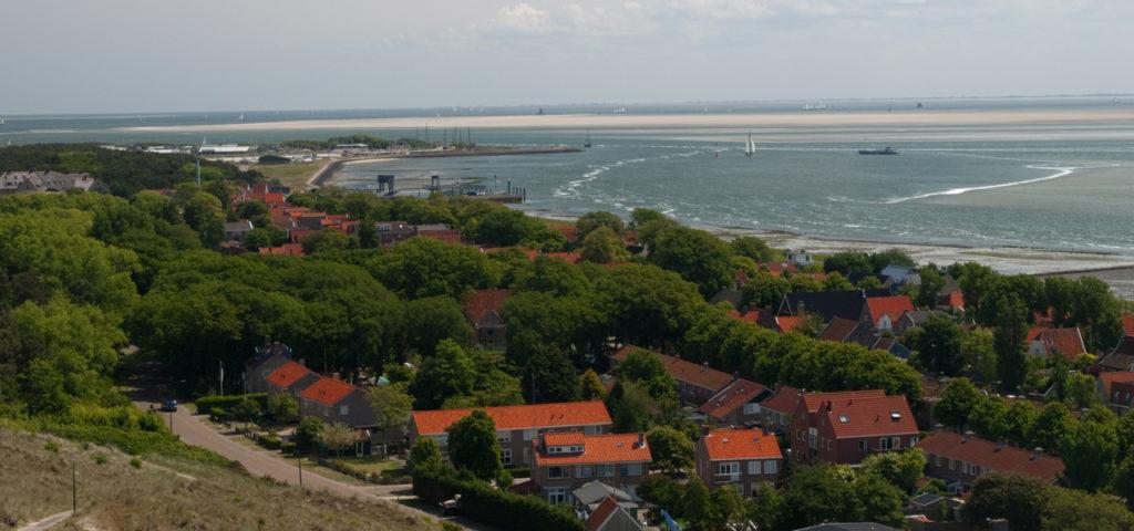 Uitzicht over Vlieland - Westcord Hotels