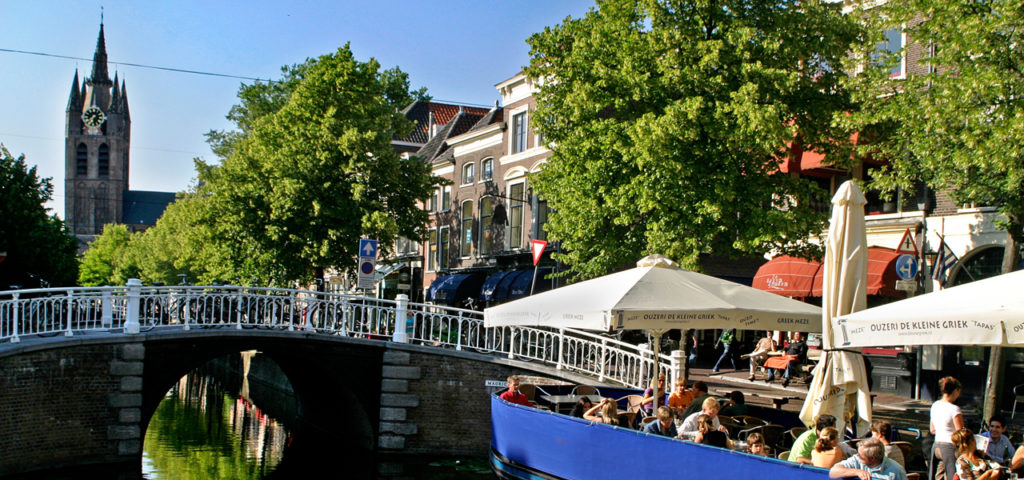 Varen over de grachten van Delft - Westcord Hotels
