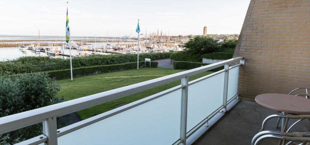 Balkon Familiesuite WestCord Hotel Schylge - Westcord Hotels