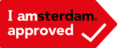 I amsterdam® Approved logo horizontaal