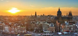 Zonsondergang Amsterdam - Westcord Hotels