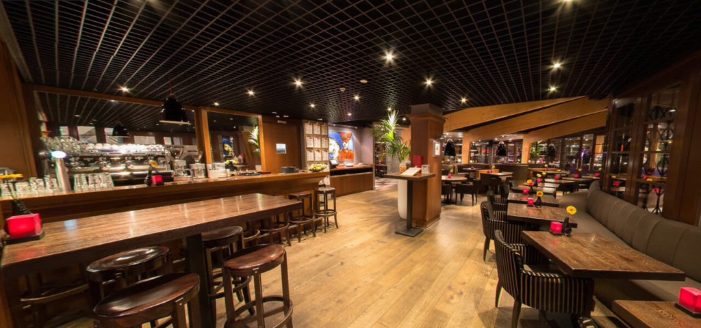 360º foto brasserie Art Hotel Amsterdam - Westcord Hotels