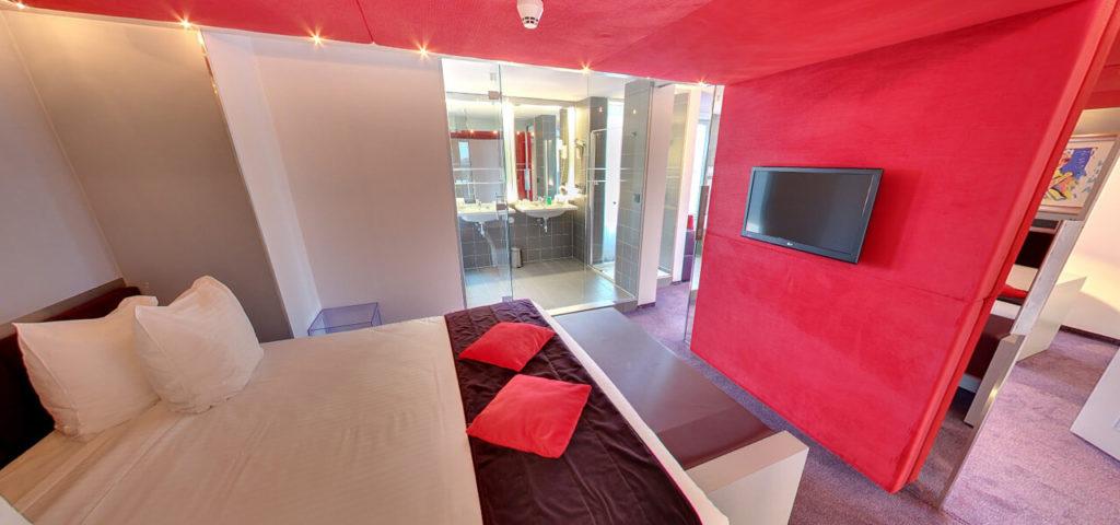 360º foto Bruidssuite Art Hotel Amsterdam **** - Westcord Hotels