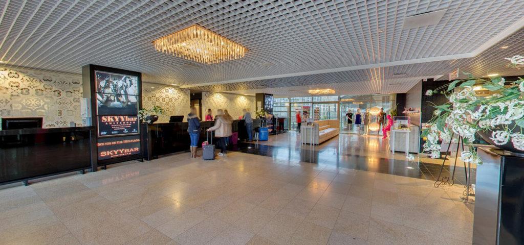 360º foto lobby Fashion Hotel Amsterdam - Westcord Hotels