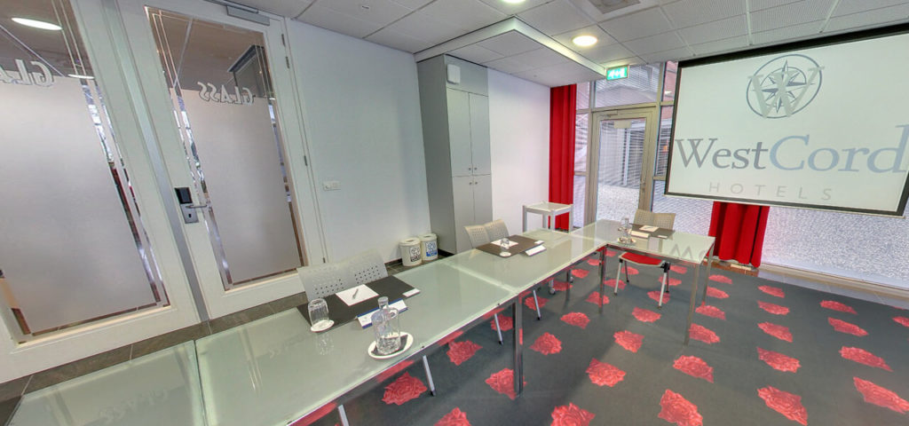 360º foto Glass Room (vergader)zaal Art Hotel Amsterdam - Westcord Hotels