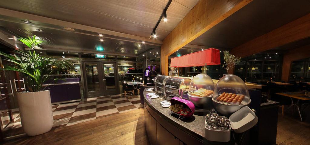 360º foto ontbijtrestaurant Art Hotel Amsterdam - Westcord Hotels
