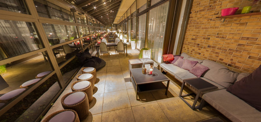 360º foto Overdekt terras Fashion Hotel Amsterdam - Westcord Hotels