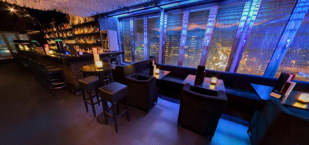 360º foto SKYY Bar Amsterdam Fashion Hotel Amsterdam - Westcord Hotels