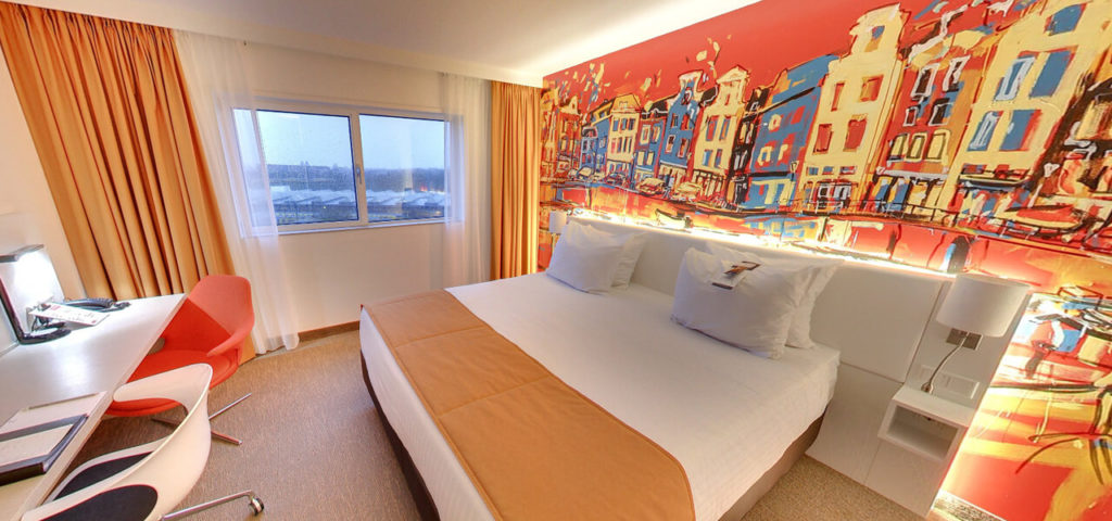 360º foto Superior Room Art Hotel Amsterdam **** - Westcord Hotels