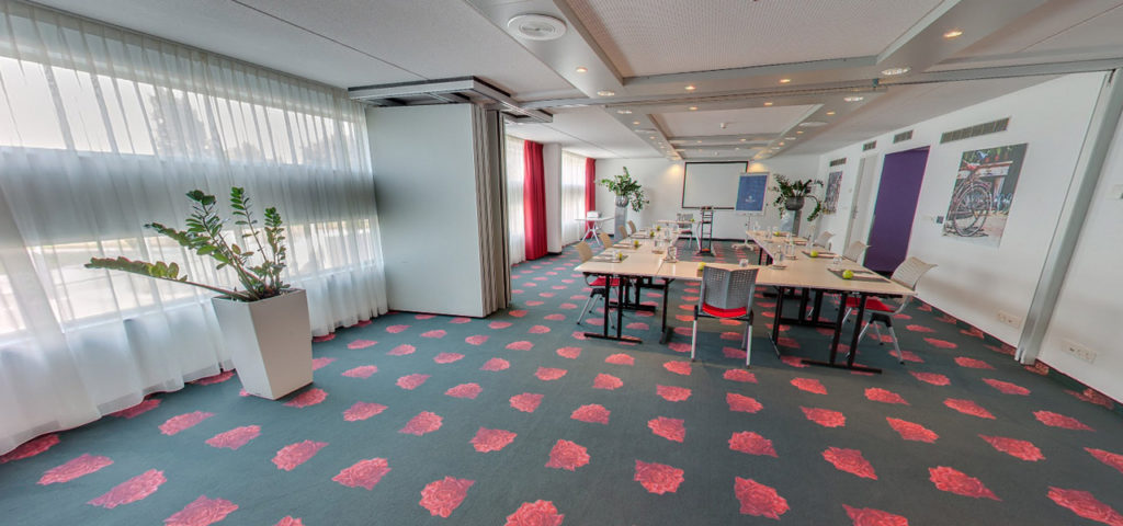360º foto vergaderzaal Water & Sand Art Hotel Amsterdam (Foto's: Anouk Bänffer, DEAN Productions) - Westcord Hotels
