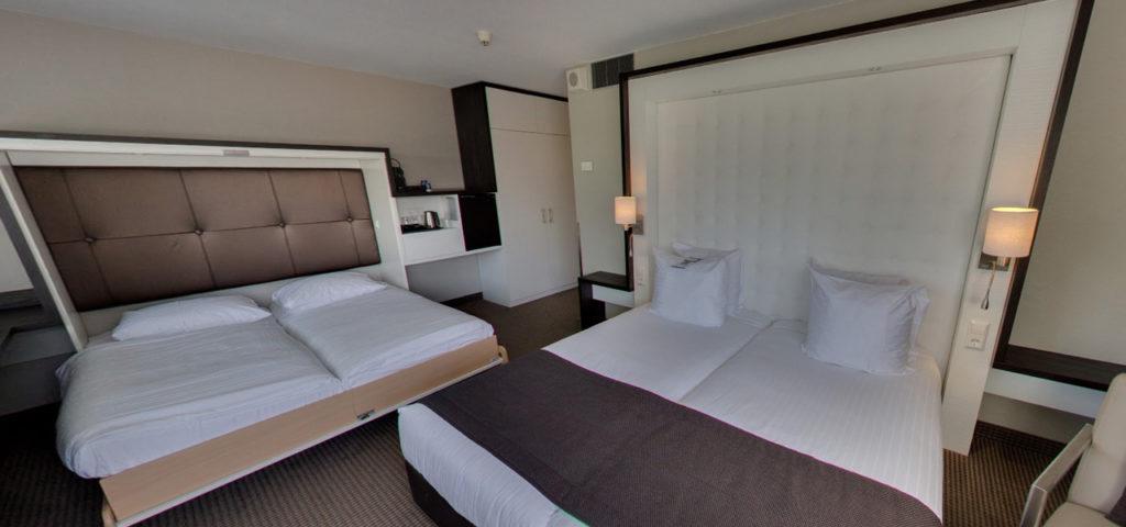 360º foto XL Triple Room Art Hotel Amsterdam **** - Westcord Hotels