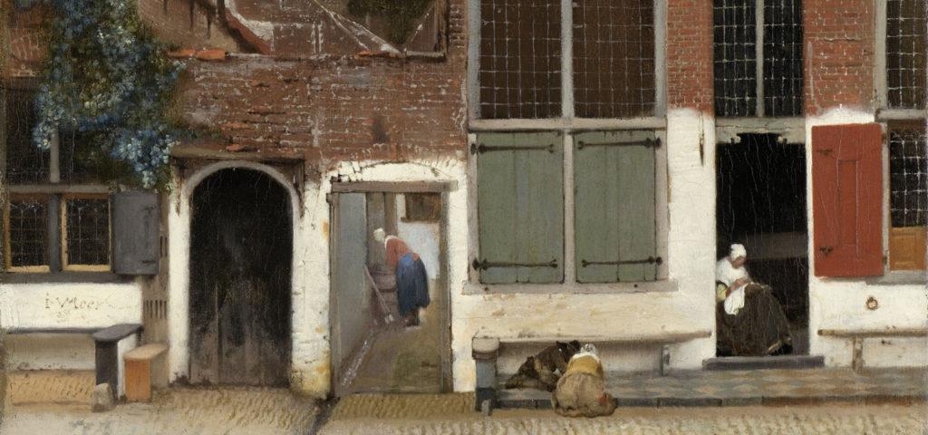 Het Straatje van Vermeer terug in Delft! - WestCord Hotels