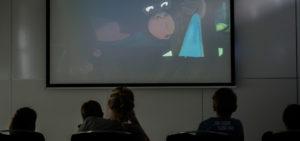 Bioscoop voor de kinderen bij de familiebrunch in WestCord Hotel Delft - Westcord Hotels