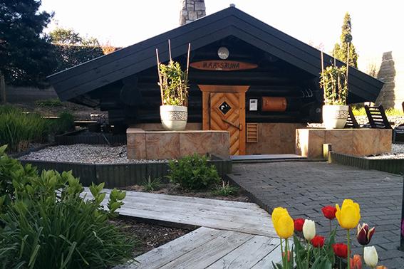 grote-foto-maa-sauna-buiten centre du lac - Westcord Hotels