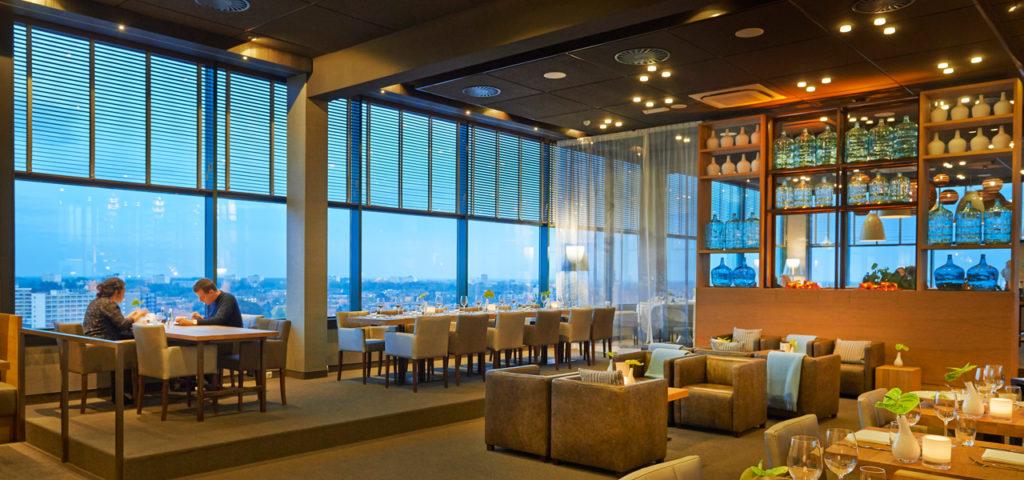 le bráss, het brasseriegedeelte van restaurant élevé - Westcord Hotels