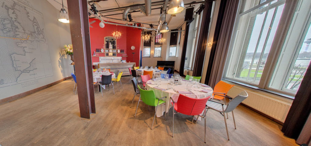 360º foto Balszaal (diner opstelling) - Westcord Hotels