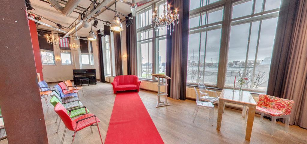 360º foto Balszaal (bruiloft opstelling) - Westcord Hotels