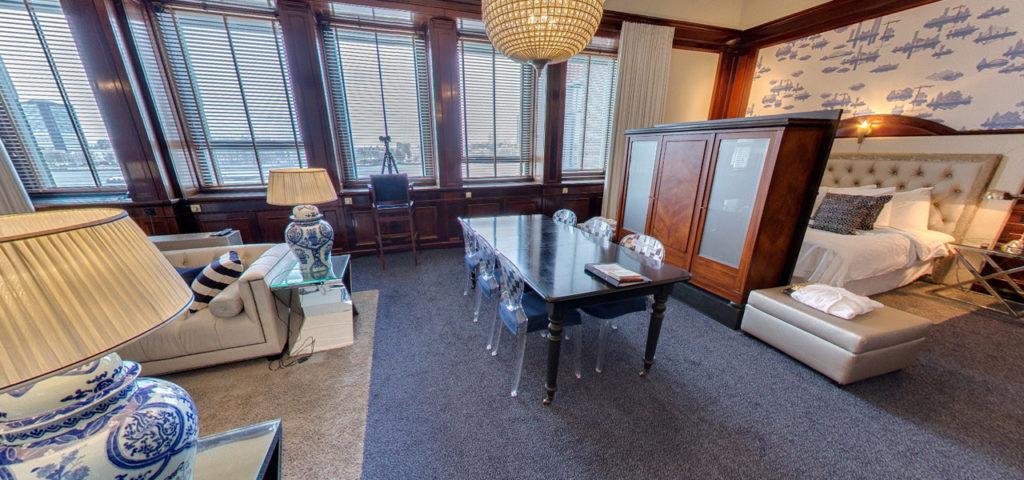 360º foto Maas Suite - Westcord Hotels