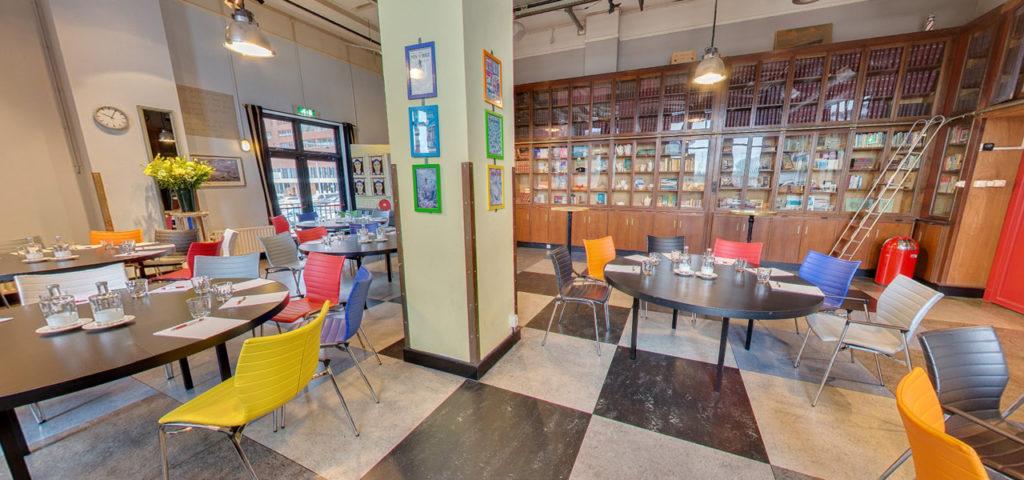 360º foto zaal Bibliotheek - Westcord Hotels