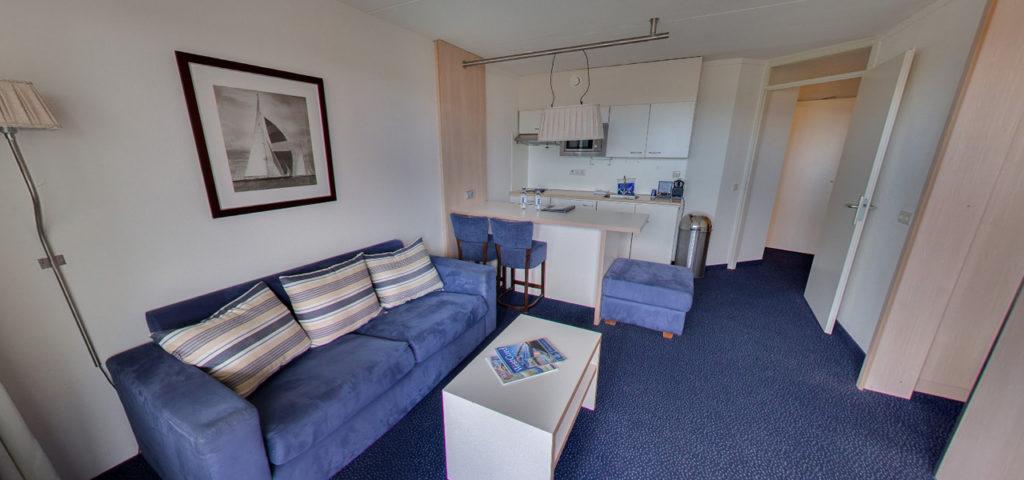 360º foto Appartement WestCord Hotel Noordsee - Westcord Hotels
