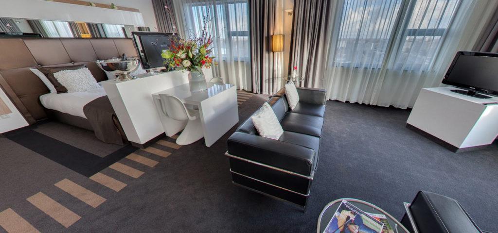 360º foto Bruidssuite WestCord WTC Hotel Leeuwarden - Westcord Hotels