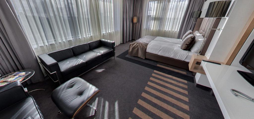 360º foto City View Deluxe Kamer WestCord WTC Hotel Leeuwarden - Westcord Hotels