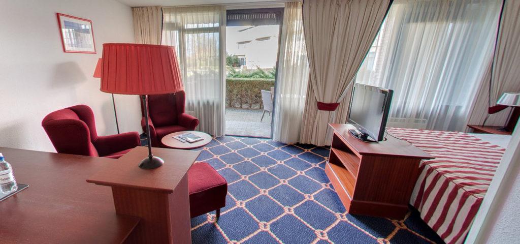 360º foto Comfort Deluxe Kamer WestCord Hotel Noordsee - Westcord Hotels