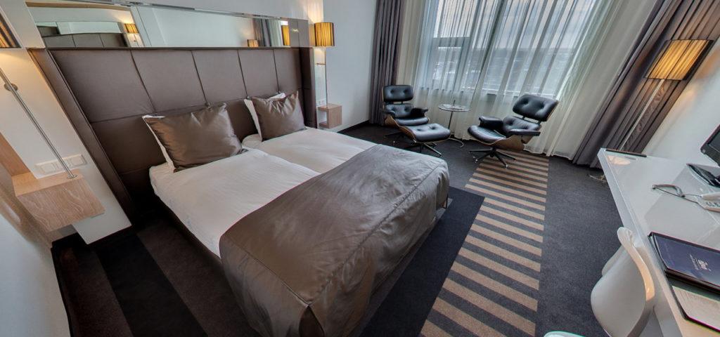 360º foto Comfort Deluxe Kamer WestCord WTC Hotel Leeuwarden - Westcord Hotels