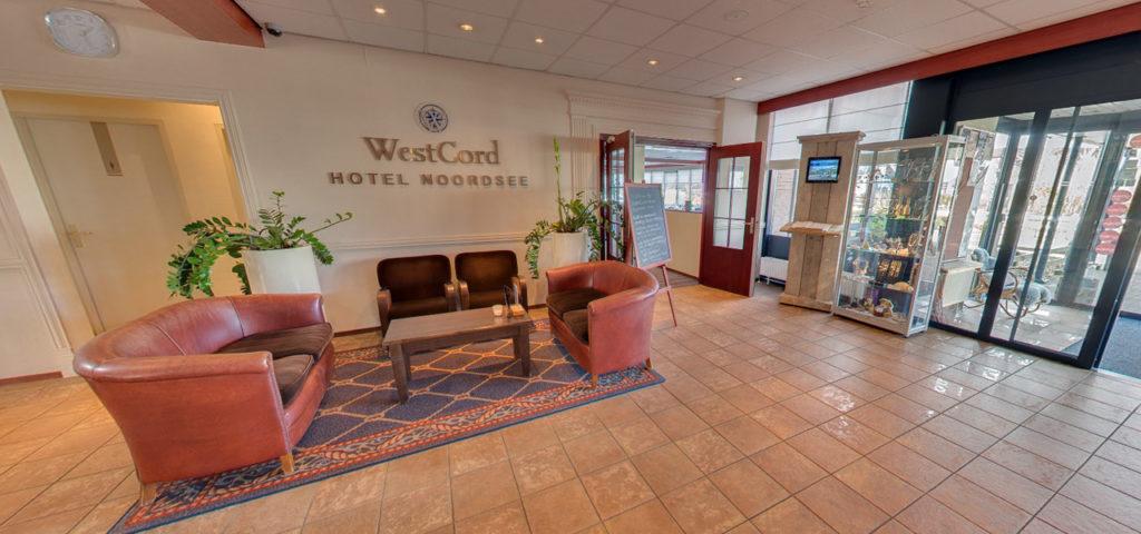 360º foto lobby WestCord Hotel Noordsee - Westcord Hotels