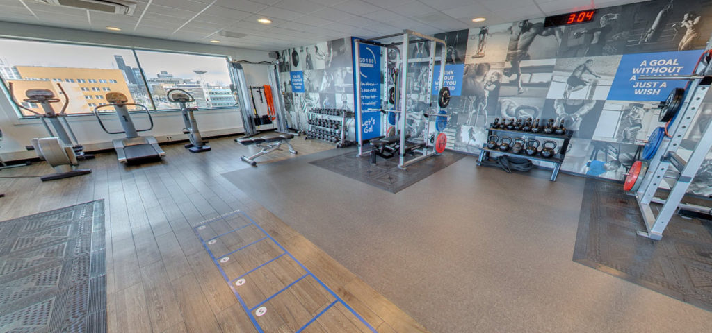 360º foto fitness WestCord WTC Hotel Leeuwarden - Westcord Hotels