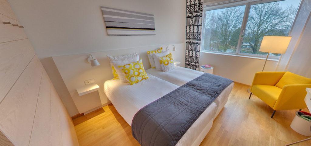 360º foto Tweepersoonskamer 'Graphic' WestCord Hotel Delft - Westcord Hotels