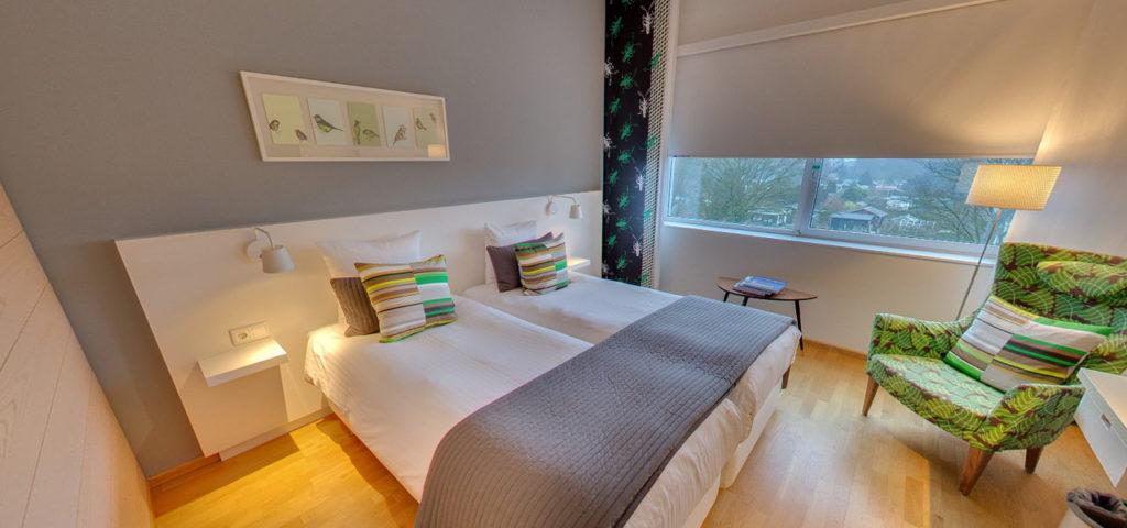 360º foto Tweepersoonskamer 'Groen' WestCord Hotel Delft - Westcord Hotels