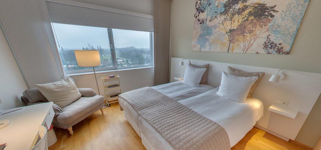360º foto Tweepersoonskamer 'Naturel' WestCord Hotel Delft - Westcord Hotels