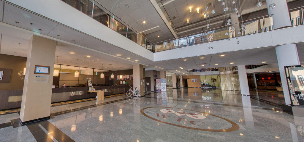 360º foto lobby WestCord WTC Hotel Leeuwarden - Westcord Hotels