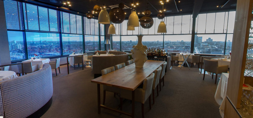 360º foto restaurant élevé WestCord WTC Hotel Leeuwarden - Westcord Hotels