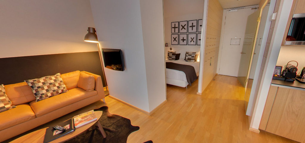 360º foto Studio 'Cognac' WestCord Hotel Delft - Westcord Hotels