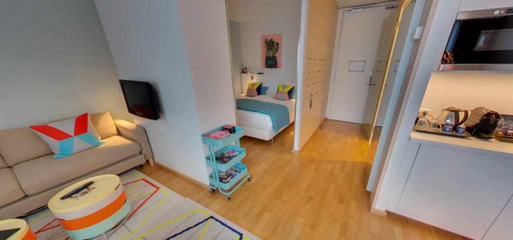 360º foto Studio 'Colour' WestCord Hotel Delft - Westcord Hotels