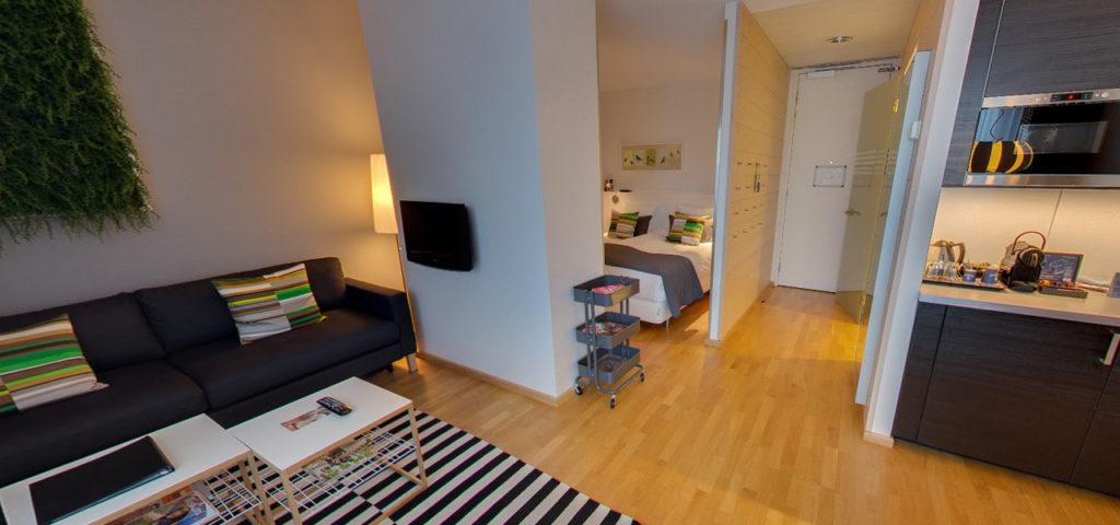360º foto Studio 'Groen' WestCord Hotel Delft - Westcord Hotels