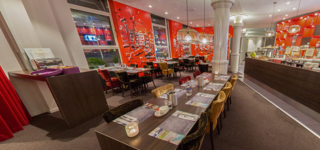360º foto ontbijtrestaurant WestCord City Centre Hotel Amsterdam - Westcord Hotels